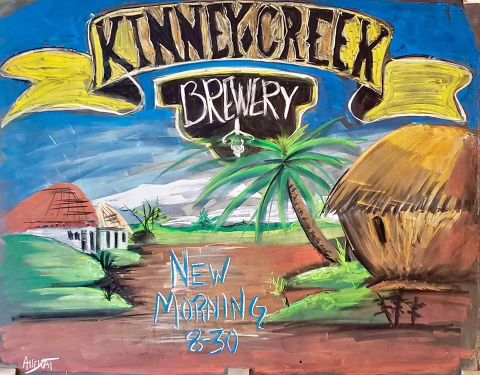 The New Morning at Kinney Creek Brewery